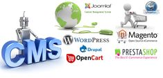 Professional CMS Website Development Company creates Content Management System Database which tools such as Joomla, Drupal, Wordpress, Zen Cart, and Magento.
