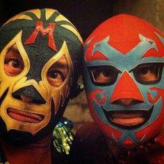 Mil Mascaras and Dos Caras