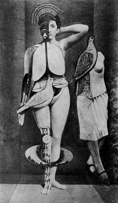 Max Ernst. Collage. 1929.