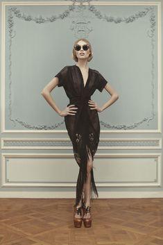 Ulyana Sergeenko Couture весна-лето 2013
