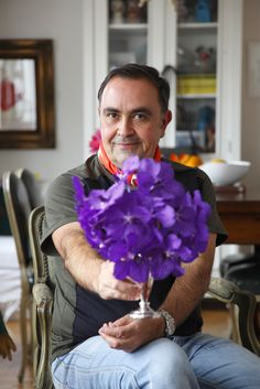 Vic Meirelles, florista - fot Evelyn Müller