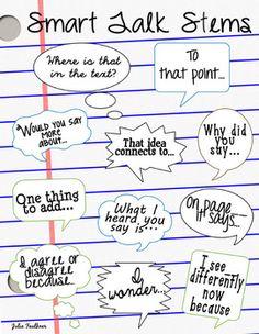 ACCOUNTABLE TALK - ACADEMICALLY PRODUCTIVE DISCUSSIONS BUNDLE - TeachersPayTeachers.com $3