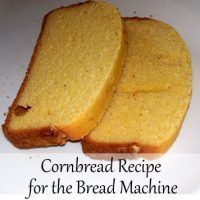 The Zojirushi bread machine has a cake setting that can be used for cornbread. However, instead of giving a cornbread recipe the manual tells you to use a mix. One day, I decided to use my regular cornbread recipe istead. It turned out great! Bread Machine Cornbread Recipe, Bread Machine Mixes, Zojirushi Bread Machine, Easy Bread Machine Recipes, Bread Maker Recipes, Banana Bread Recipes, Bread Machines, Cooking Bread, Cooking Recipes