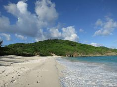 Macaroni Beach - one of our favourite beaches, Mustique. Photo taken by Sally