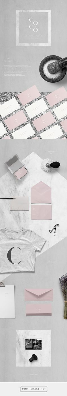 Coco Beautique Beauty Salon Branding by Sofia Papadopoulou | Fivestar Branding Agency – Design and Branding Agency & Curated Inspiration Gallery