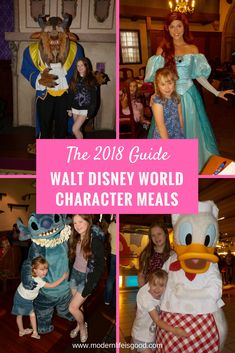2018 guide on all the current Disney World Character Meals. In addition we have exclusive video footage from many of the venues.