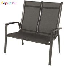Meghitt társalgásaik során még közelebb kerülhetnek egymáshoz. A kétszemélyes szék a kényelmes, széles ülőfelületnek, a magasított háttámlának és az egyedülálló luxusminőségű, kétrétegű, bélelt textilene szövet anyagnak köszönhetően, extrém luxuspihenést biztosít.    Jellemzők:  - Méretek: 74,5 x 113 x 108,5cm  - Súly: 11,5kg Outdoor Chairs, Outdoor Furniture, Outdoor Decor, Royal Garden, Home Decor, Homemade Home Decor, Garden Chairs, Decoration Home, Lawn Chairs