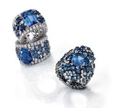 Roberto Coin sapphire rings