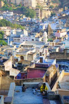 Bundi, Rajasthan, India China Travel, India Travel, Morning View, Morning Light, Amazing India, Visit India, Jaisalmer, Blue City, British Indian