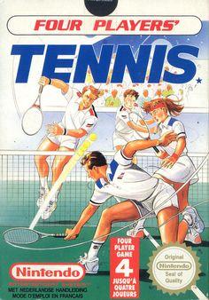 Four Players Tennis - NES - Acheter vendre sur Référence Gaming