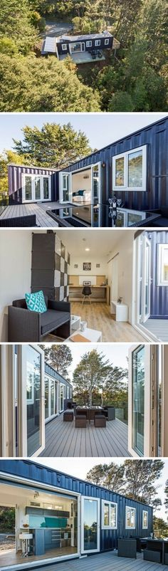 Container Homes Plans - TEKAPO TINY SHIPPING CONTAINER HOME Who Else Wants Simple Step-By-Step Plans To Design And Build A Container Home From Scratch? #containerhomeplans