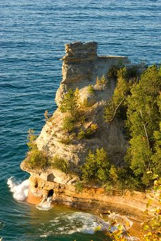 # Miner's Castle, Pictured Rocks National Lakeshore, Upper Peninsula, Michigan