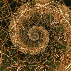 The Golden Ratio, a mathematical phenomenon - fractal