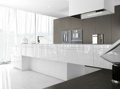 Cuisine intégrée sur mesure SINTESI.30 Glam Ligne Glam Lifestyle by Comprex design MARCONATO