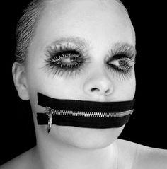 Avant-Garde Makeup Looks | One of Yvonne's brilliant avant-garde makeup looks