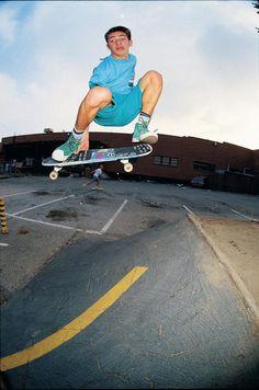 Skate Photo - Mark Gonzales Eighties Skateboarding Photograph Print - J Grant Brittain Sk Skate Photos, Skateboard Photos, Skateboard Art, Old School Skateboards, Vintage Skateboards, Skater Kid, Skate Surf, Longboarding, Burton Snowboards