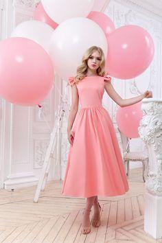 Платье «Кэнди» (персик) — 27 990 рублей