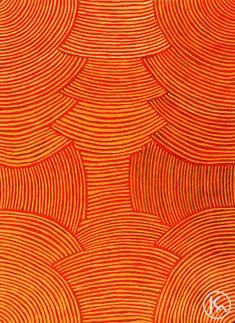 """""""Awelye"""" by Myrtle Petyarre 129cm x 177cm WAS $5,500 NOW $4,500"""