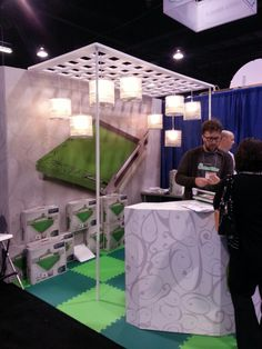Cutterpillar booth at the CHA winter 2014 Mega Show. My favorite booth design