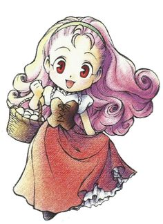 Popuri Harvest Moon Back To Nature - Igusa Matsuyama Harvest Moon 64, Game Character, Character Design, Ranch, Moon Wedding, Cartoon Sketches, Slayer Anime, Moon Art, Animal Design