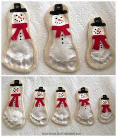DIY Christmas Gift Ideas | DIY Salt Dough Ornament Snowmen. #chrismtas #diy #gift #giftidea #christmasgifts #ornament #christmasornaments