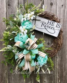 He is Risen by Holiday Baubles