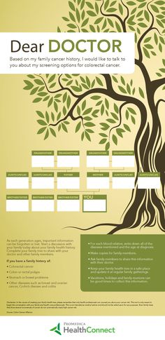 Did you ever think your family tree could save your life?