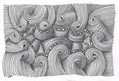 beautiful piece using Margaret Bremner's tangle, Dansk ~ by SimoneBischoff
