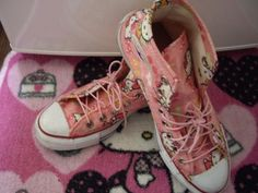 Hello Kitty Converse... YES!