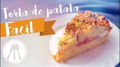 video receta sencilla y fácil, prueba esta torta de patata, te encantrá!