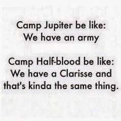 Camp Jupiter and Camp Halfblood