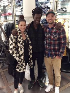 1e4fa59150f Power couple Jessica Beil and Justin Timberlake spotted wearing AW15 Scotch  and Soda. Ideal Man