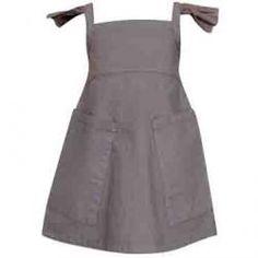 apron dress - Petit Bebeclothing - girl 2-14Y