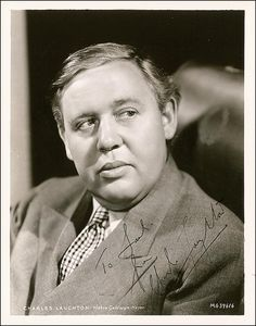 Charles Laughton, 1899 - 1962. 63; actor, screenwriter, producer, director. Biography Charles Laughton; An Intimate Biography by Charles Higham 1976.