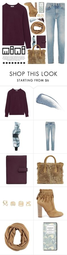"""""""sweet mini handbags"""" by jesuisunlapin ❤ liked on Polyvore featuring Equipment, Yves Saint Laurent, Aesop, Acne Studios, TravelSmith, Ralph Lauren, Charlotte Russe, Aquazzura and Forever 21"""
