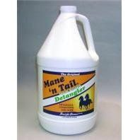 MANE N TAIL DETANGLER, Size: GALLON (Catalog Category: Equine Grooming:SHAMPOOS, CONDITIONERS & SHINE) by STRAIGHT ARROW PRODUCTS D. $40.38. Dry mane tail, and coat, mane and tail breakage split ends tangled mane and tail. Dry use: spray until enough product is on hair to create slip. Work in with fingers throughout the entire hair until tangle free. Do not rinse out. Wet use: after washing spray on hair and work in with fingers until tangle free. Do not rinse.Ingredients:...