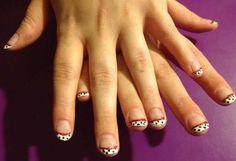 Dalmatian nails I designed for my Zoe
