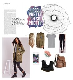"""""""Back To Boredom"""" by foxescitys on Polyvore featuring Missguided, Acne Studios, Dr. Martens, H&M and Home Decorators Collection"""