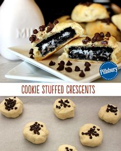 For when you deserve a treat or when the kids have been extra good, we recommend these Oreo™ Stuffed Crescents. Stuff a sandwich cookie inside a buttery, flaky crescent and bake. Minimal effort, maximum reward!
