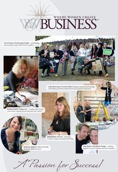 ❥ Where Women Create Business~ NEW publication, available 1.1.13. I can't wait!!! <3
