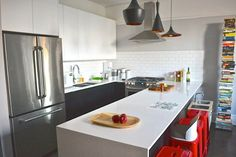 Thinking about upgrading your kitchen? These examples of real people using Ikea to make their kitchen renovation dreams come true will inspire you to tackle Kitchen Renovation Design, Kitchen Interior, Kitchen Decor, Cottage Renovation, Modern Ikea Kitchens, Cool Kitchens, Small Kitchens, Ikea Cabinets, Painting Kitchen Cabinets