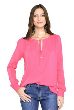 blusa ampla color - Blusas e T.shirts | Dress to