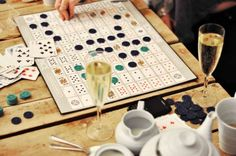 Grown-up game nights allow you to mix different social groups together easily.