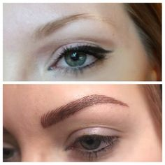 It's a world of difference!  #eyebrows #brows #zoemilan #zoemilanstudio #permanentmakeup #threading #microblading