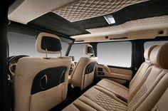 gwagon interior; you will be mine !
