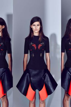 Dion Lee Resort 2014 Collection is an Oil Spill Gone Right