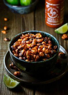 Sriracha Roasted Nuts