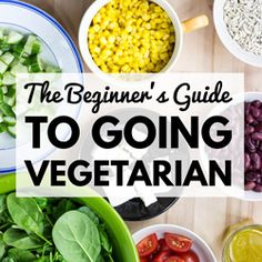 In this guide you'll find essential nutrition information on the vegetarian diet, awesome recipes, and tips on making the switch as easy as possible. Enjoy!