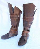 EZIO BOOT | by HamraBDG | on deviantART | also seen on: LARP costumeNew to Larp gear » LARP costume http://www.mylarpcostume.com/2014/01/new-larp-gear/