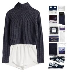 """""""Winter Morning"""" by chelseapetrillo ❤ liked on Polyvore featuring Polaroid, Francesco Scognamiglio, New Balance, Native Union, Topshop, Acne Studios, Wildfox, Oskia, FOSSIL and Alterna"""